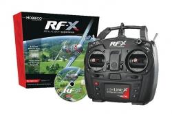 RealFlight RF-X s 10k ovladačem Interlink-X