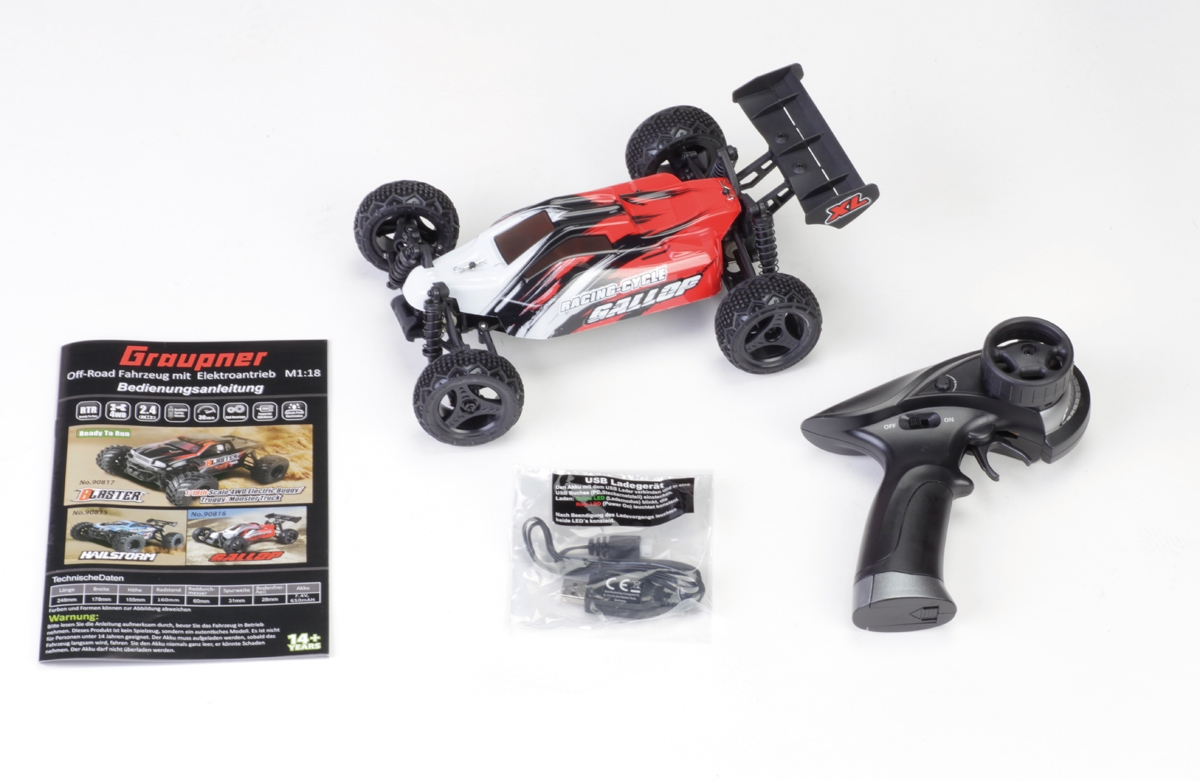 E-Buggy Gallop, 4wd, RTR