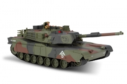 1:20 M1A1 Abrams RC Tank 2.4GHz (Waterproof Chassis)