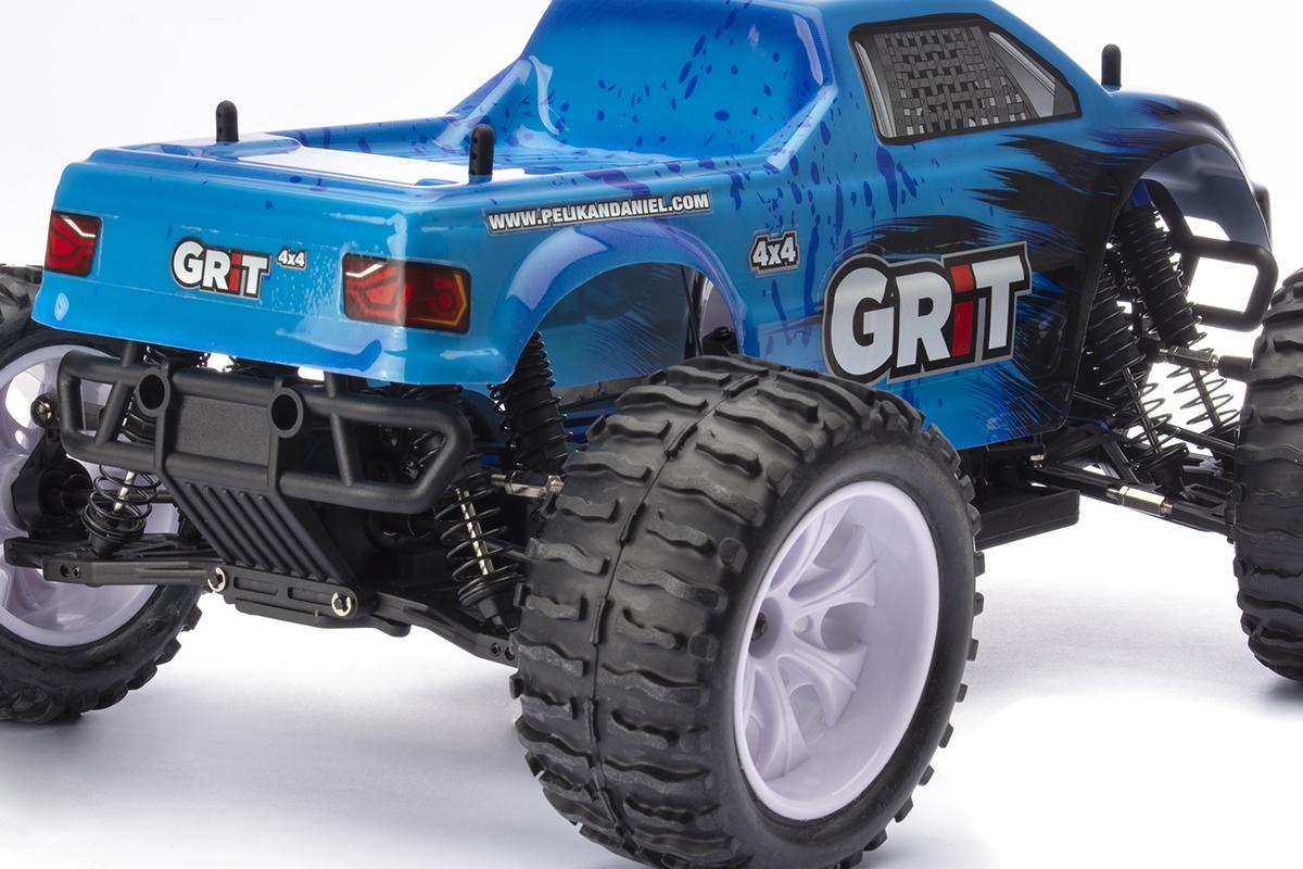 HiMOTO Monster EMXT GRIT 1:10 elektro RTR set 2,4 GHz (modrá)