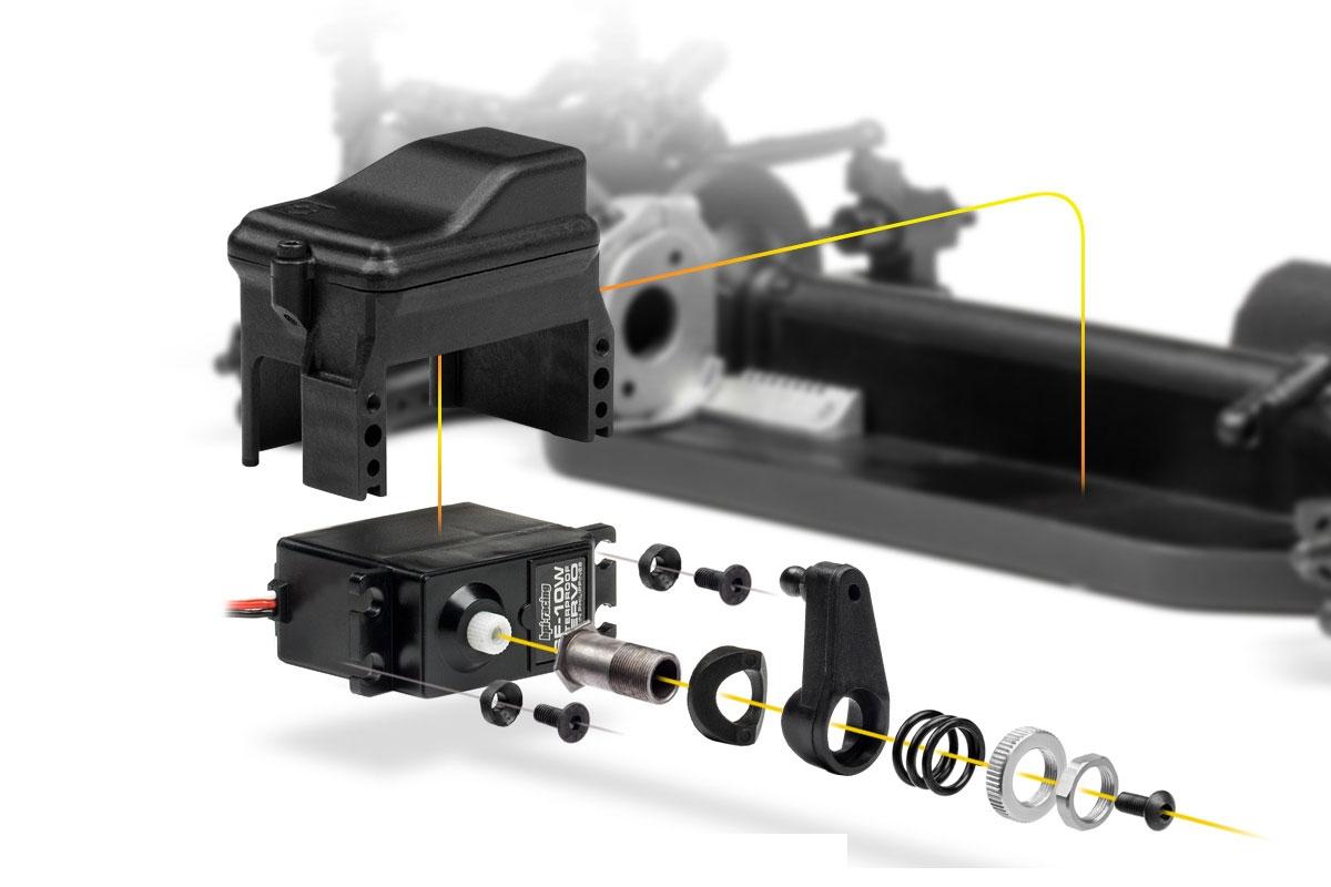 RS4 SPORT 3 DRIFT s karoserií Subaru BRZ RTR set