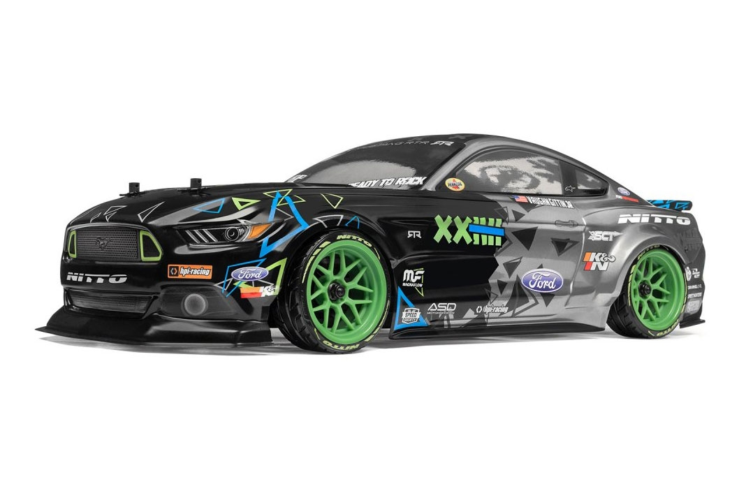 RS4 SPORT 3 DRIFT Ford Mustang (Vaughn Gittin Jr.) RTR set