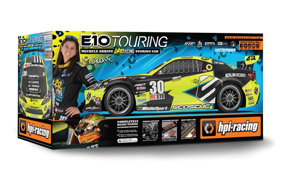 E10 Touring Michele Abbate GRRRACING, RTR set