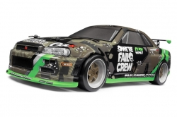 1:18 Nissan Skyline GT-R Micro RS4 Drift RTR (Fail Crew)