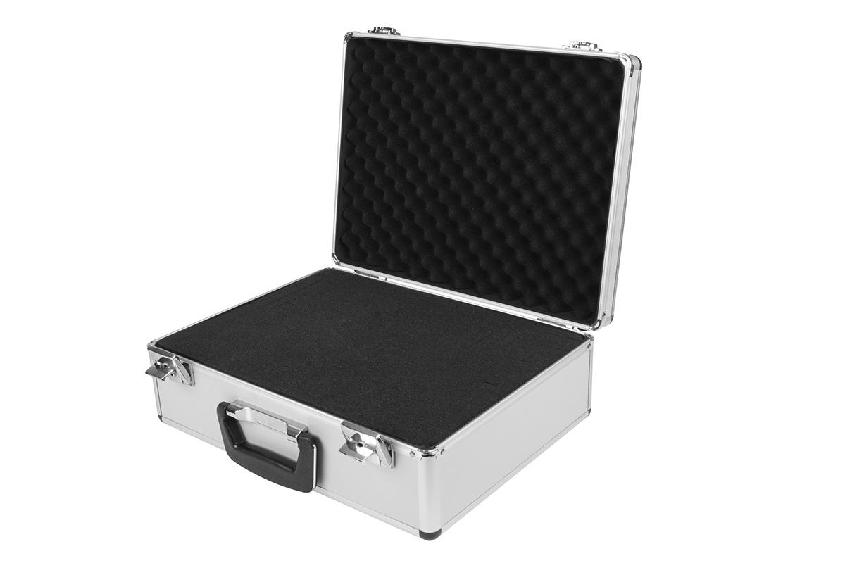 Hliníkový kufr pro vysílače a příslušenství
