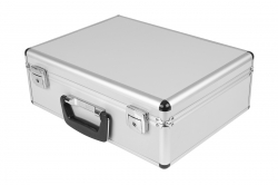 Hliníkový kufor pre vysielače a príslušenstvo