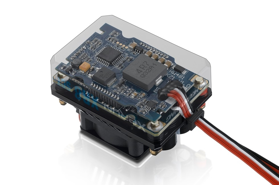 XERUN XR8 SCT - černý - regulátor