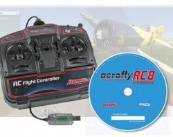 Aerofly RC8 Standard (Windows) s USB ovladačem