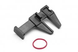 Plastová svorka malá, 36mm, černá (5 ks)