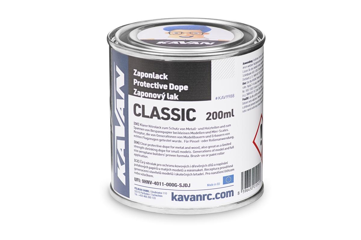 KAVAN zaponový lak Classic 200ml