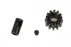 Ocelový motorový pastorek 12 zubů, modul 32DP