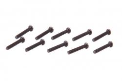 Šrouby s kulatou hlavou M3×22 mm (10 ks)