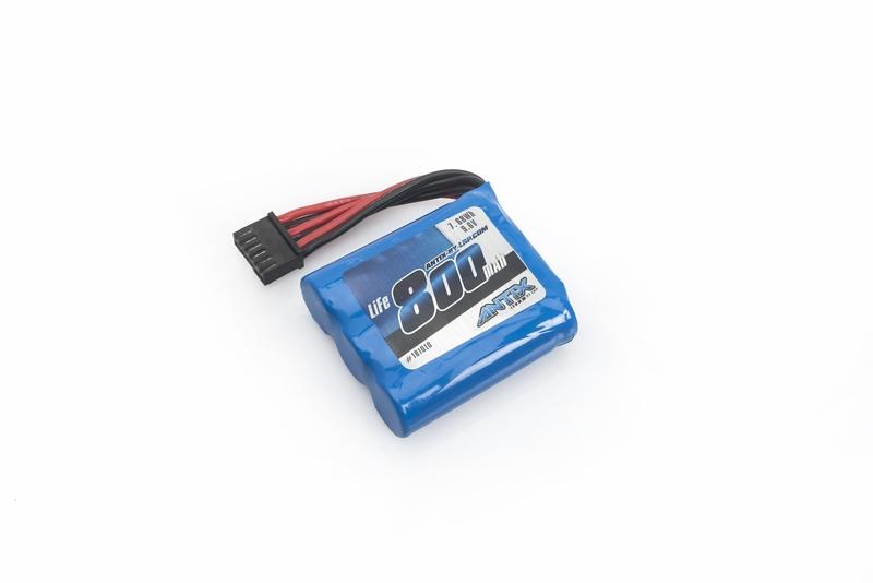 9,6V LiFe pack - ANTIX MT-1