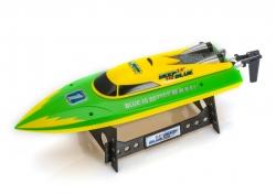 LRP Deep Blue 340 2,4 High-Speed Racing loď RTR - žluto/zelená
