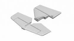 Multiplex AcroMaster PRO: Výškovka a směrovka