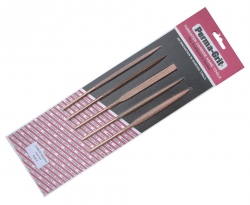 Sada 18cm ihlových pilníkov (5 ks)