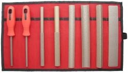 Sada hrubých pilníkov (8 ks)