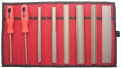 Sada jemných pilníkov (8 ks)