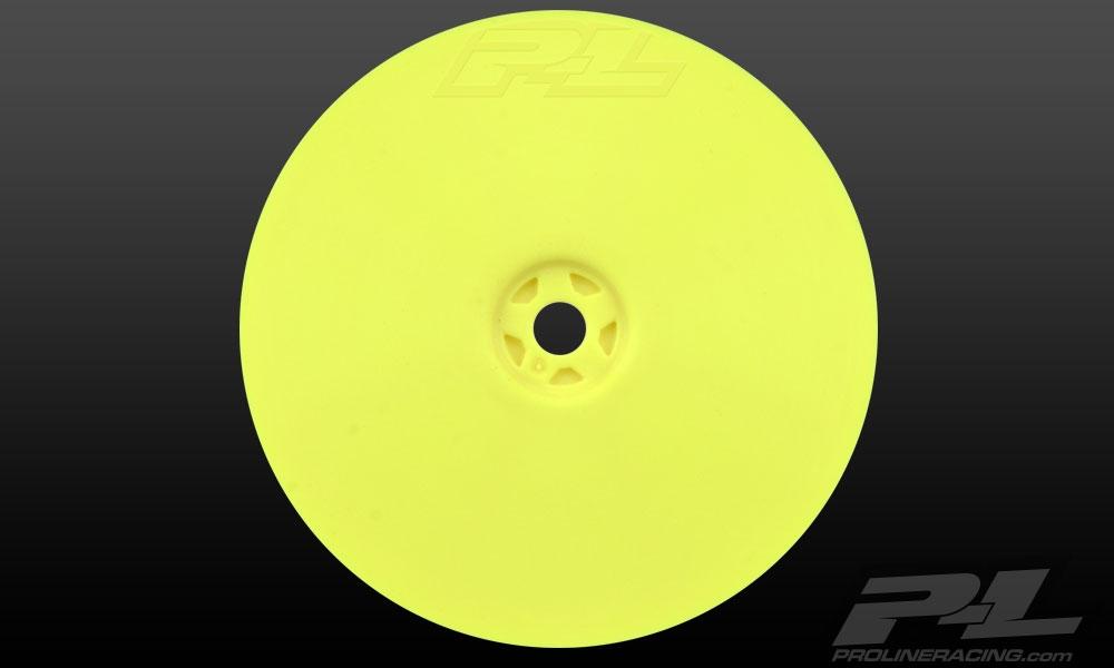 Náhled produktu - Velocity 2.2″ 4WD přední žluté disky (2ks)