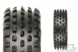 Wedge 2.2 Wide Z4 (směs Soft carpet) gumy přední 2wd, 2 ks