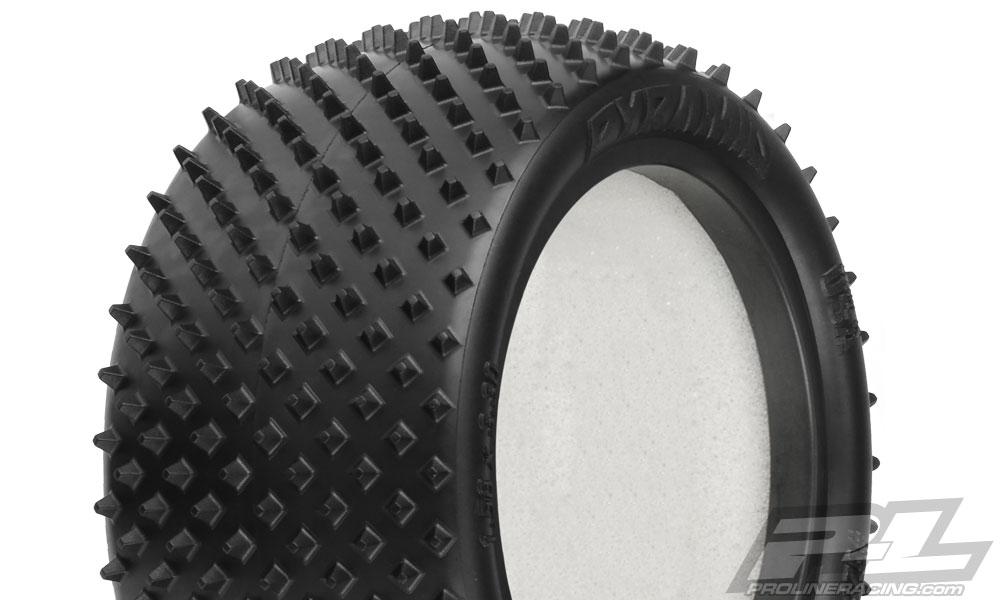 Náhled produktu - Pyramid 2.2 Z3 gumy zadní Buggy – směs Medium Carpet (2ks)