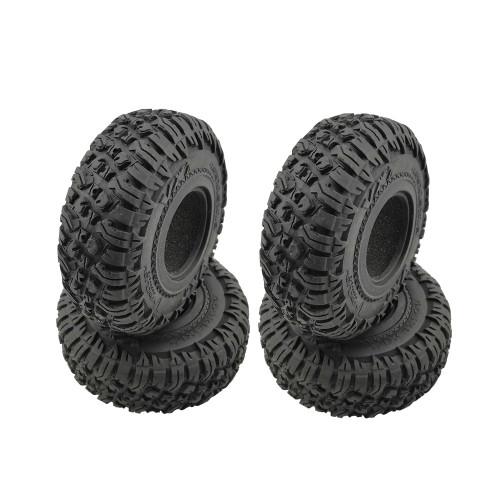 Náhled produktu - Roundcube 1.9″ Crawler gumy včetně vložky, průměr 120 mm (4 ks)