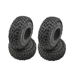 Roundcube 1.9″ Crawler gumy vrátane vložky, priemer 120 mm (4 ks)