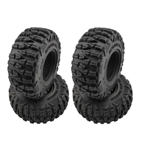 Náhled produktu - Roundcube 2.2″ Crawler gumy včetně vložky, průměr 120 mm (4 ks)