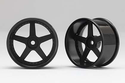 View Product - Racing Performer Driftovací disky 5 paprsků 01 (8 mm Offset / Černé / 2 ks)