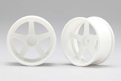 View Product - Racing Performer Driftovací disky 5 paprsků 01 (8 mm Offset / Bílé / 2 ks)