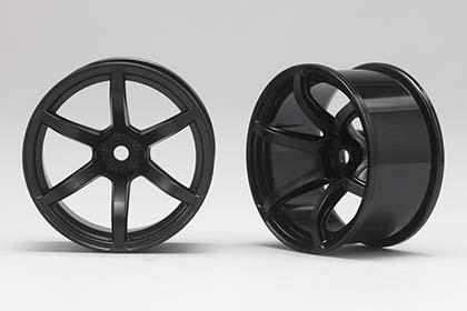 View Product - Racing Performer Driftovací disky 6 paprsků 02 (8 mm Offset / Černé / 2 ks)