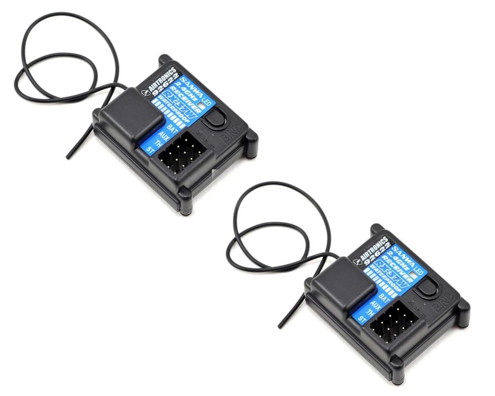 MX - V 2,4GHz s 2x voděodolným přijímačem RX-37W