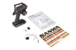 SANWA MT-S 2,4GHz s přijímačem RX-482