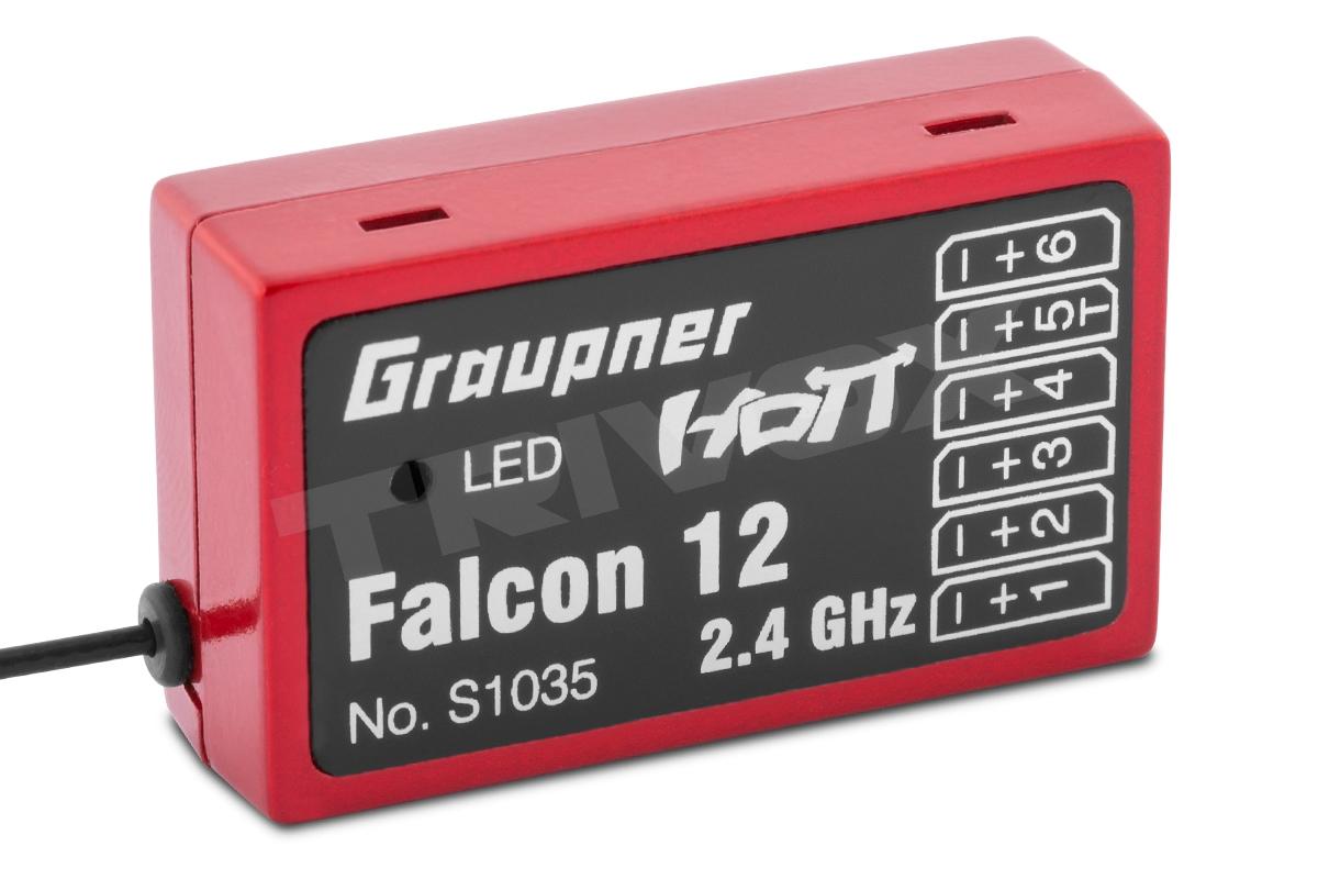 View Product - Gyro přijímač HoTT FALCON 12