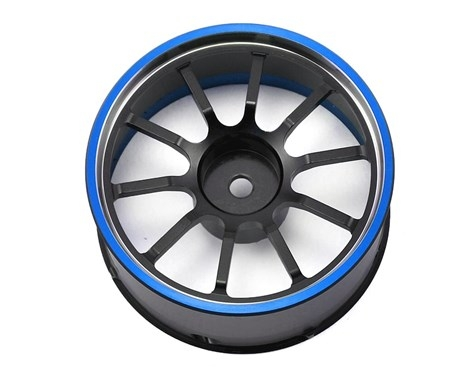 Náhled produktu - M12/M12S: Hlinikový volant (černo-modrý)