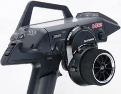 M12/M12S: Hliníkové díly držáku volantu (černé)