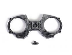 MZ-12: Přední čelo, vypínač (imitace uhlíku)