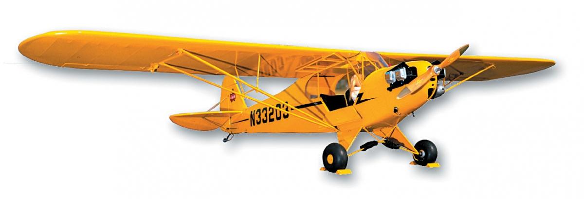 SIG 1/6 PIPER J-3 Cub 1800mm stavebnice