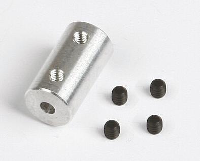 Alu spojka 3,2/4.0mm
