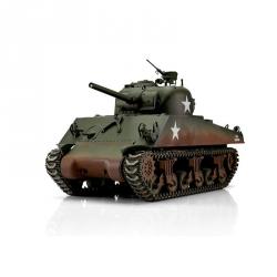 1:16 RC tank M4A3 Sherman s IR bojovým systémem (zelená kamufláž)