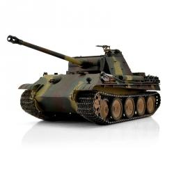 1:16 RC tank Panther Ausf.G s IR bojovým systémom (viacfarebná kamufláž)
