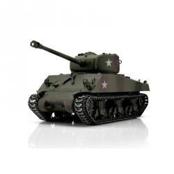 1:16 RC tank M4A3 Sherman s IR bojovým systémem (maskovací kamufláž)