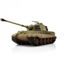 1:16 RC tank Kingtiger s IR bojovým systémom (pieskový)