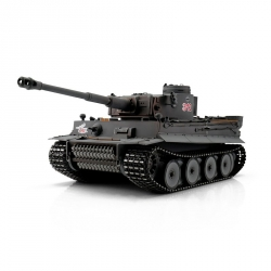 1:16 RC tank Tiger I Early Version s IR bojovým systémom (šedý)