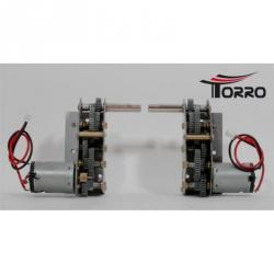 Kovová převodovka 1:3 pro TORRO KV-1/KV-2