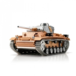 1:16 RC tank Panzer III s IR bojovým systémom (nelakovaný)