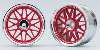 Náhled produktu - 10-paprskové disky (červená)
