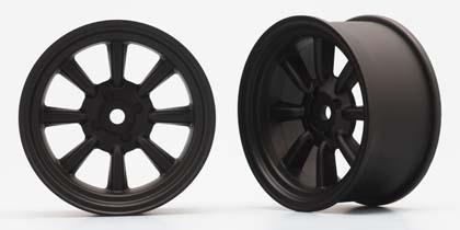 Náhled produktu - RS WATANABE 8-paprskové disky (černá)