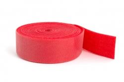 Suchý zips obojstranný 2Mx20 mm (červený)