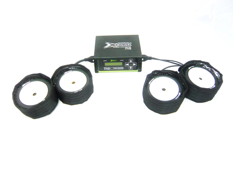 Náhled produktu - Ohřívačka gum TH2 pro 1:8 off-road